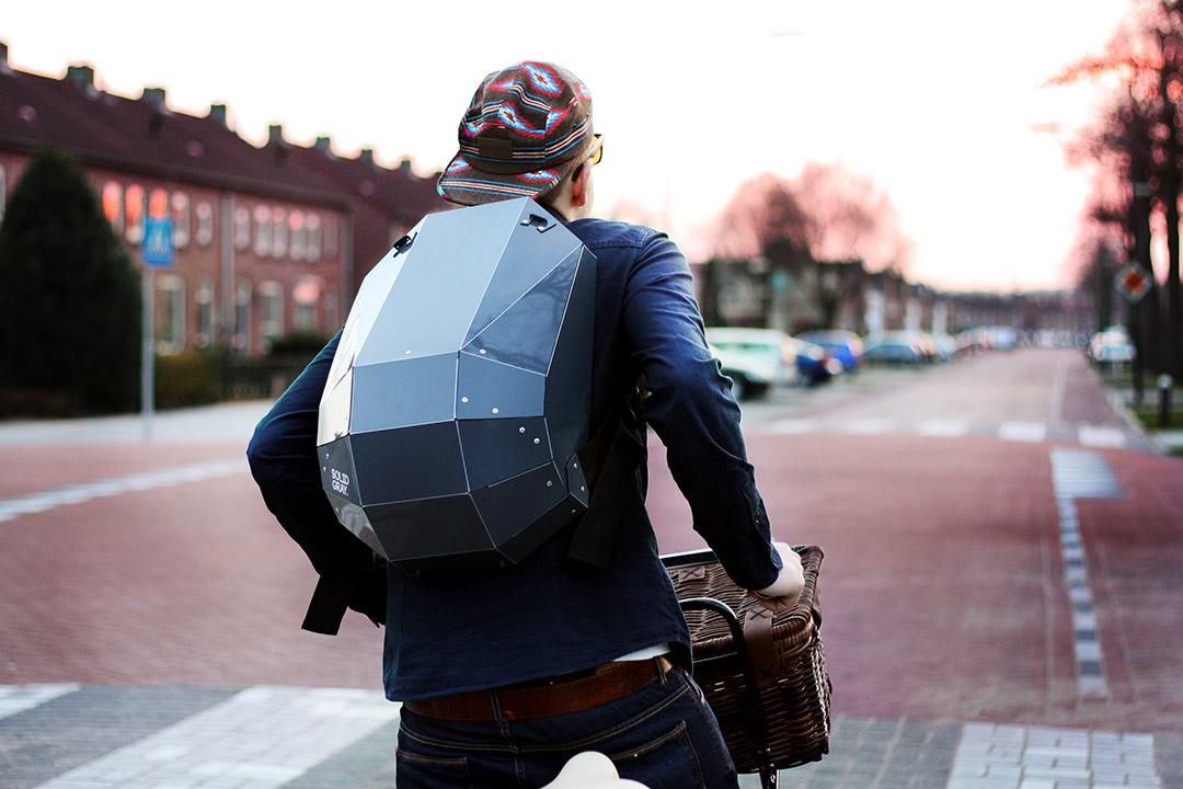 Solid Gray 新一代折叠背包